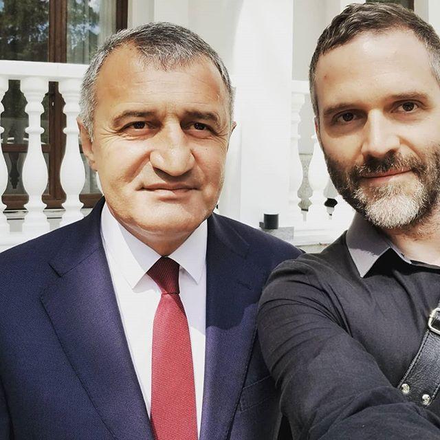 This is the best #president I ever met  #southossetia⚪️🔴💛 #southossetia  #southossetiaisfree #southossetiaisnotgeorgia  #Anatoliylllich #AnatoliyBibilov