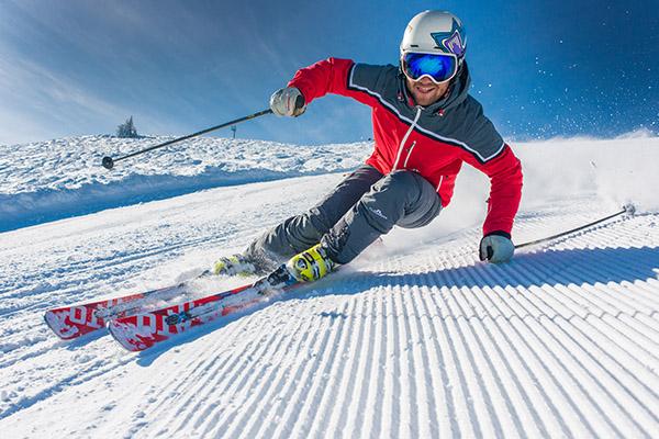 Skifahrer Ski fun Planai Sportfotografie