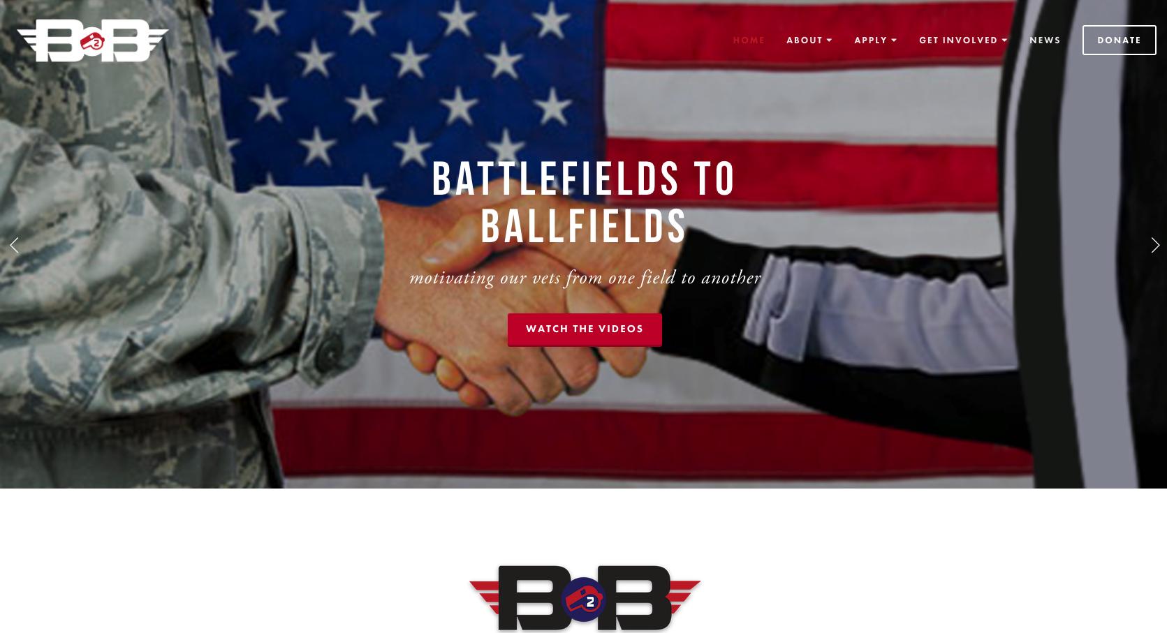 Battlefields to Ballfields - Site Setup & Customization, Image Curation