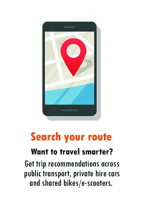 zipster search route journey planner maas mobility-as-a-service transport app