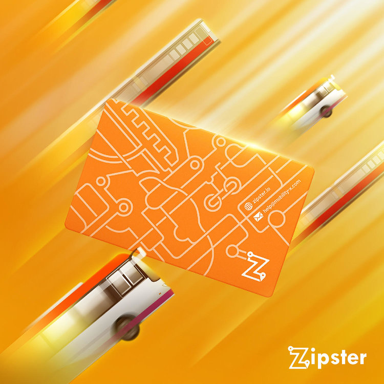 Zipster Card for public transport mobility-as-a-service MaaS Singapore all-in-one transport app