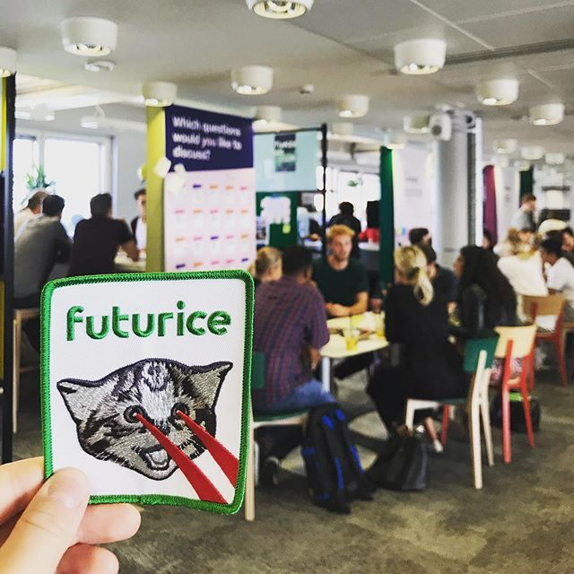 Today ITP students and our guests from Loyola University are visiting @futurice for an intelligence augmentation workshop 🤖✨Thank you for having us! #aaltoitp