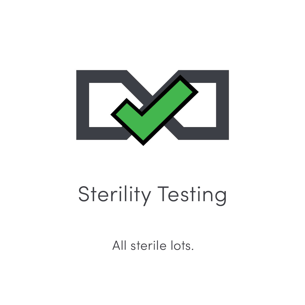 STERILITY TESTING   All sterile lots