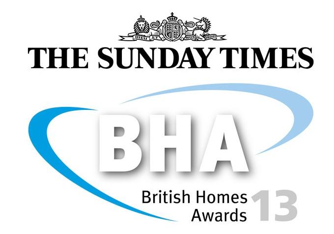 British Homes Awards, WinnerInterior Design Category - Avondale Park Hall, BHA Awards, 2013