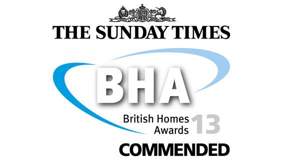 British Homes Awards, Commended,Family Home - Avondale Park Hall, BHA Awards 2013