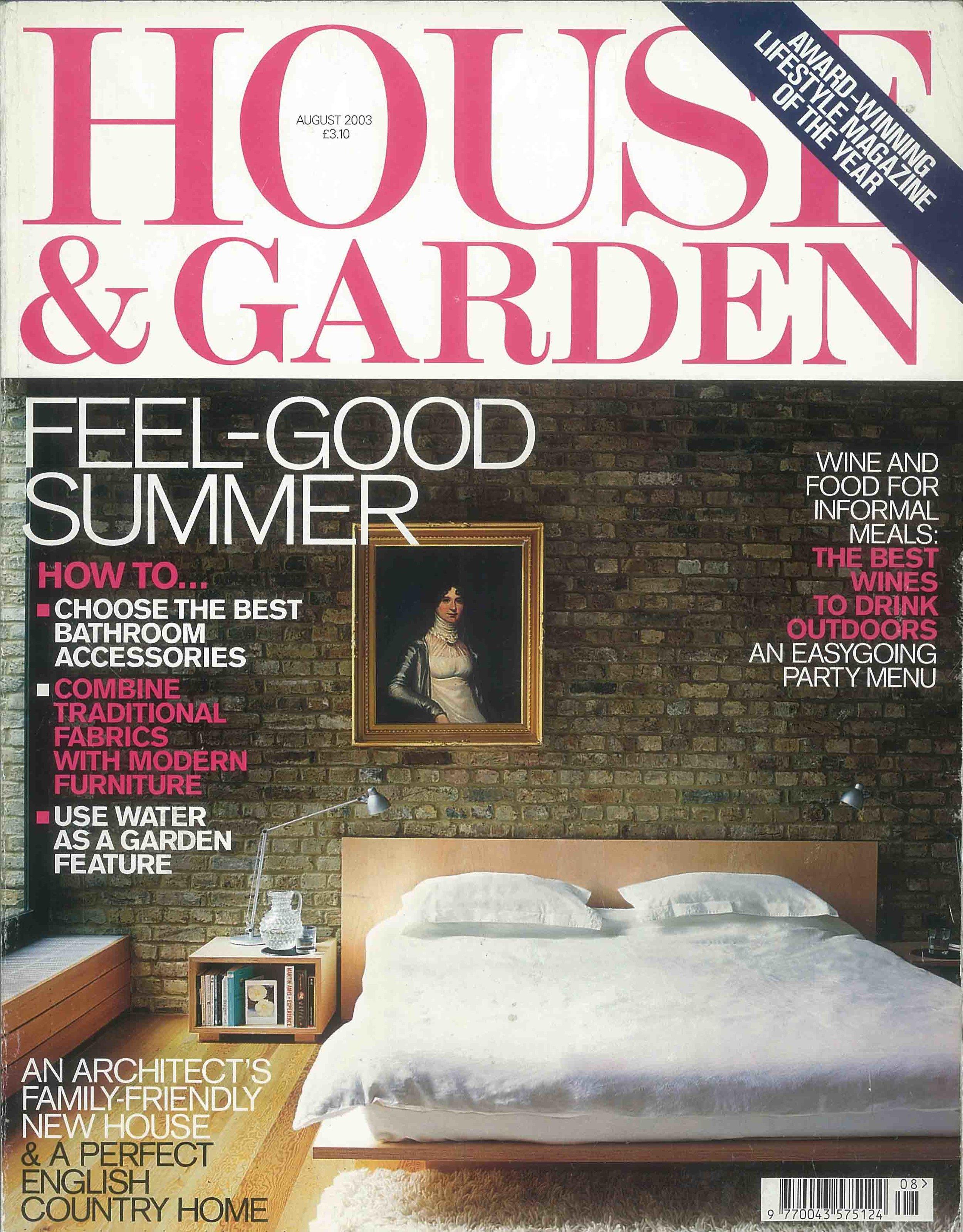House & Garden, August 2003 - Stamford Brook Road