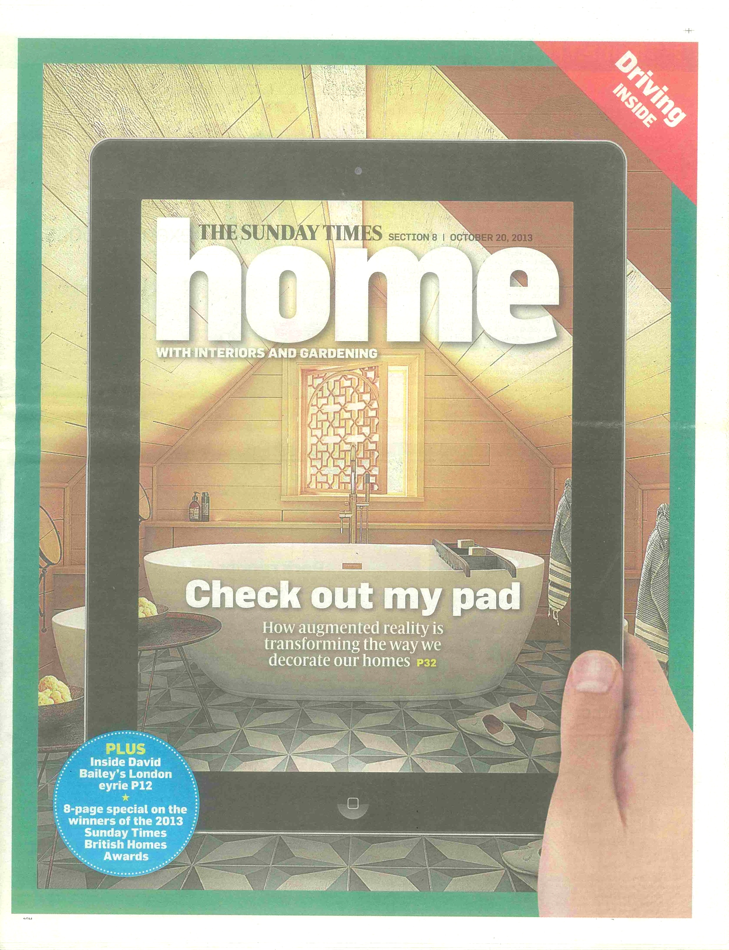 The Sunday Times Home, October 2013 -