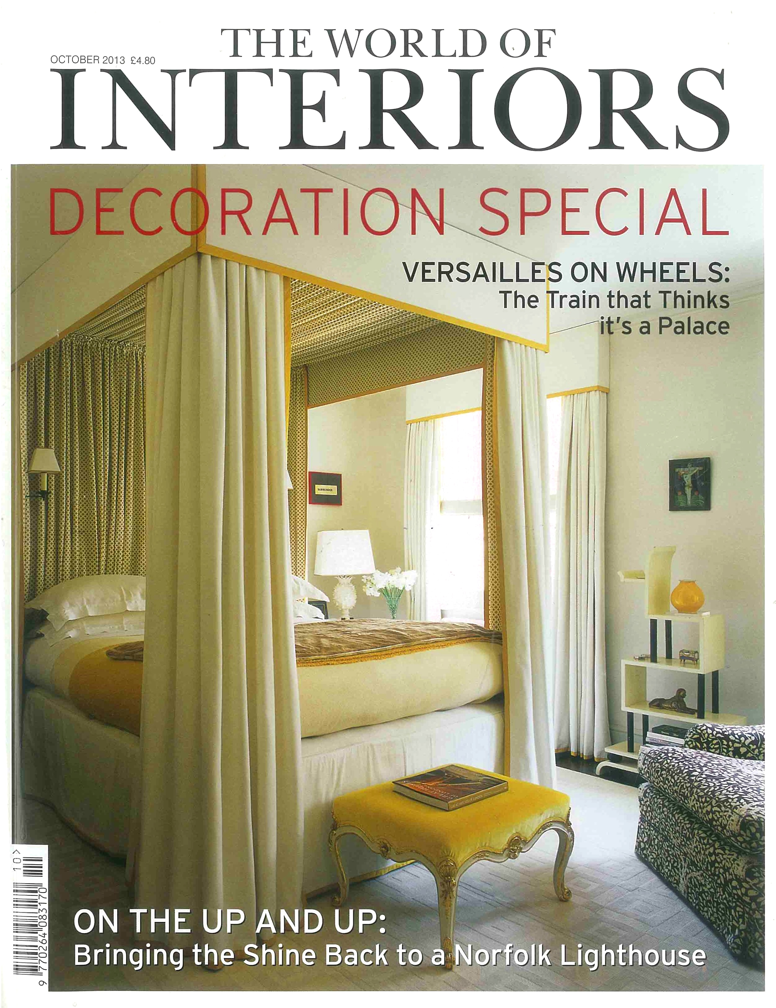 The World of Interiors, October 2013 - Carlos Place