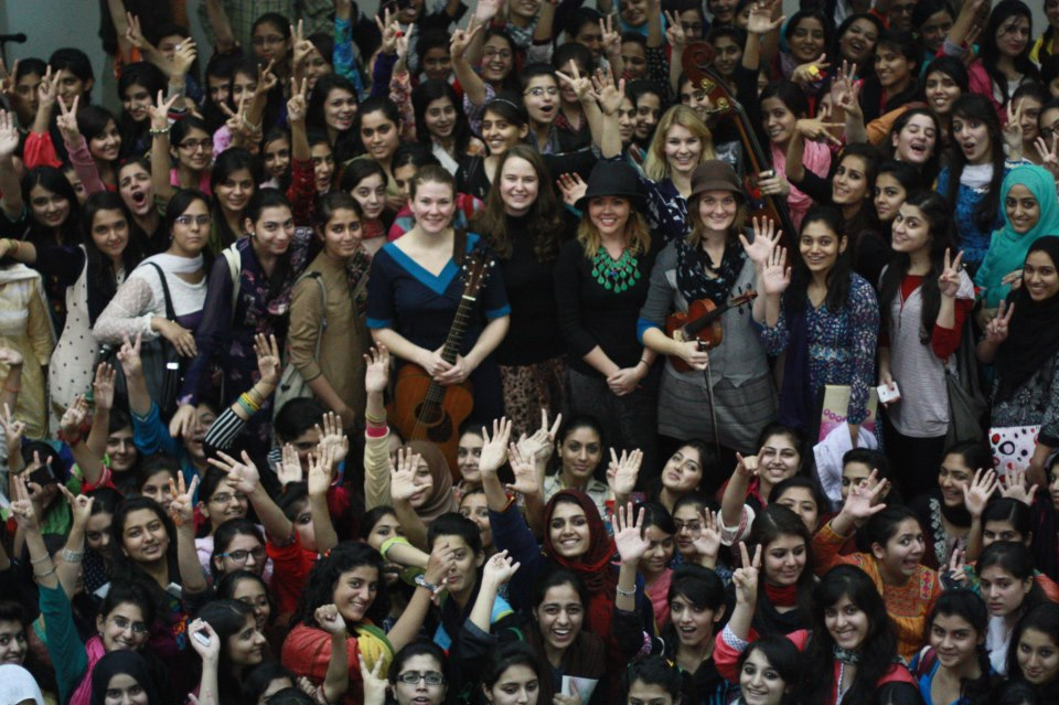 DM @ Kinnaird College for Women Pakistan.jpg