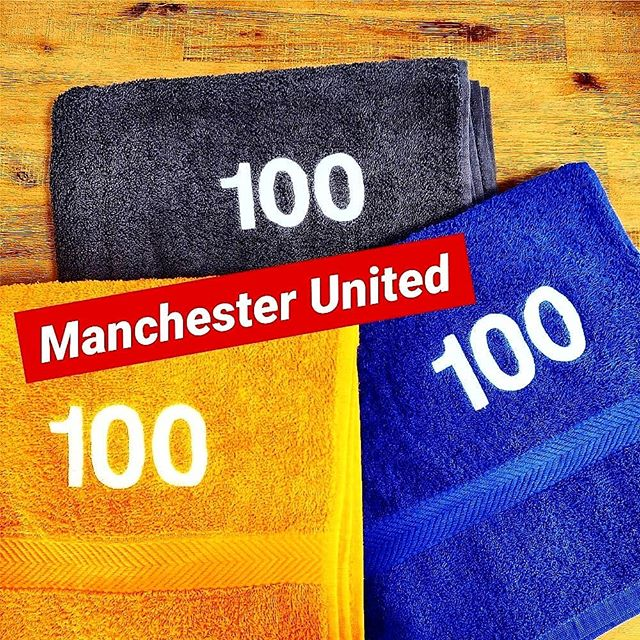 ⚽Manchester United⚽ 3 towel colour ways embroidered with numbers 1-100 for Manchester United ahead of pre-season @thediamondfootball . . . Get in touch for a quote today: 📞01730 268 884 📩info@tecpromotions.co.uk 🖥tecpromotions.co.uk  ____  #TECpromotions #customembroidery #embroideredclothing #embroidery #embroideredshirt #embroideredtshirt #embroiderywork #printing #clothing #embroideredshirts #embroideryshop #embroiderycompany  #corporateclothing #workwear #brand #brandedclothing #printshop #customprinting #screenprinting #screenprint #screenprinted #screenprintinguk #screenprintshop #screenprintingservice #custommerch #custommerchandise #customapparel #tshirtprinting #uktshirtprinting #printedclothing