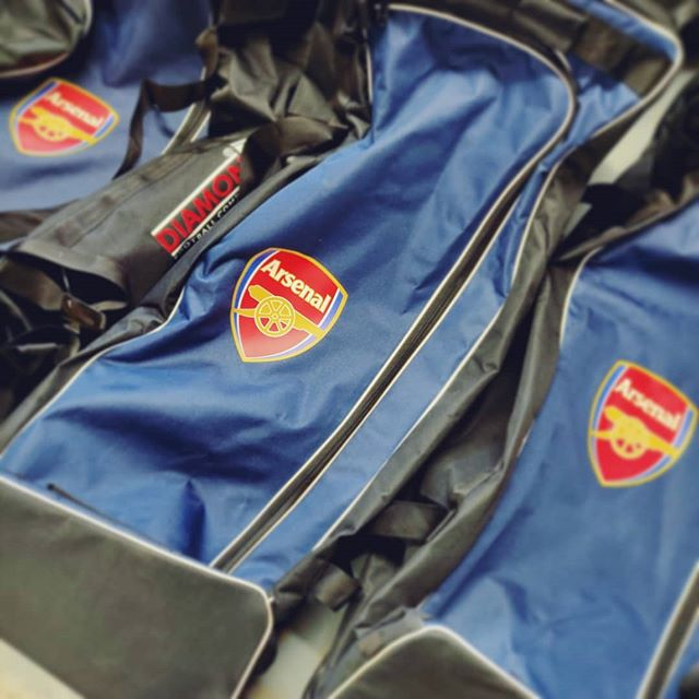 ⚽Arsenal⚽ Some more pre-season kit, this time going out to Arsenal. A few @thediamondfootball bags ready to go! . . . Get in touch for a quote today: 📞01730 268 884 📩info@tecpromotions.co.uk 🖥tecpromotions.co.uk  ____  #TECpromotions #customembroidery #embroideredclothing #embroidery #embroideredshirt #embroideredtshirt #embroiderywork #printing #clothing #embroideredshirts #embroideryshop #embroiderycompany  #corporateclothing #workwear #brand #brandedclothing #printshop #customprinting #screenprinting #screenprint #screenprinted #screenprintinguk #screenprintshop #screenprintingservice #custommerch #custommerchandise #customapparel #tshirtprinting #uktshirtprinting #printedclothing