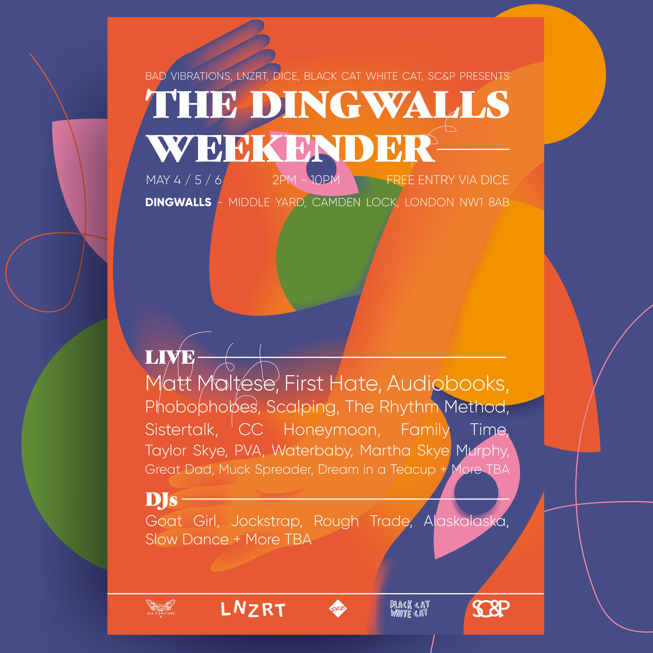 More Hate Camden — Weekender Dingwalls First Scalping