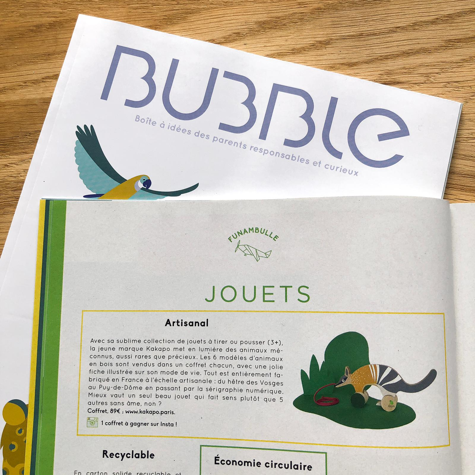 Bubble n°52, Juin 2019.
