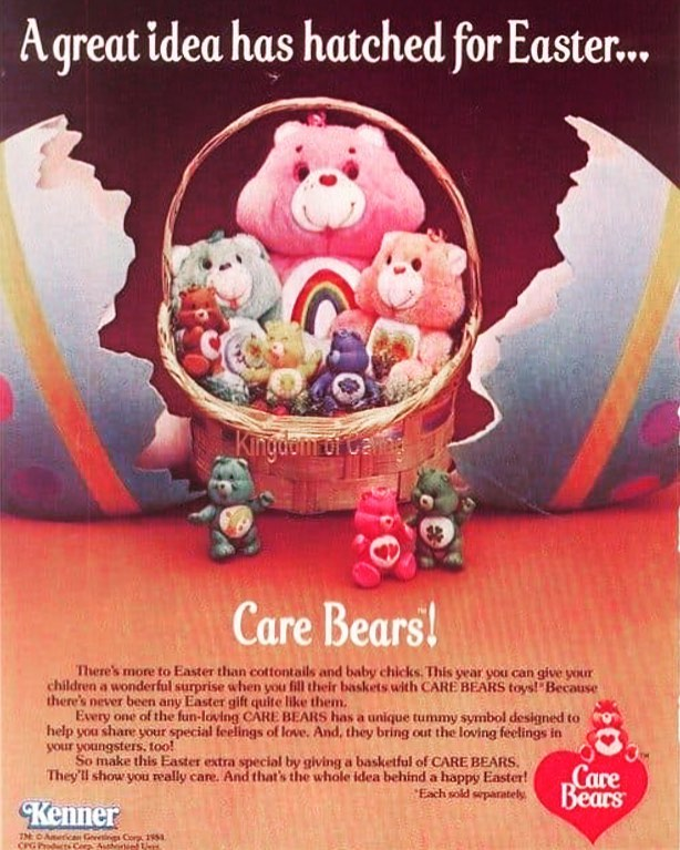 Happy Easter from MotorVice and The Care Bears. 🧡💙💚💛❤️💜 May you and your family have the most totally Radical Easter 🐣 Day. . . #carebears #kenner #toys #80stoys #80seaster #80saesthetic #80s #80sparty #motorvice #carshow #motorviceshow #motorvicemidwest2 #raidersofthelostcarpark