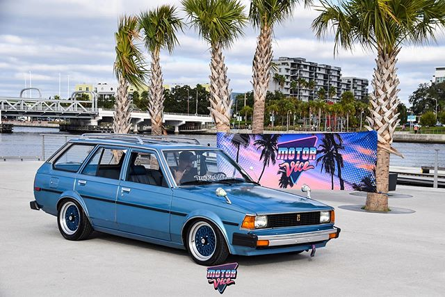 Do you even MotorVice? . Two opportunities: September 14th Ohio (Midwest 2) . . February 1 Florida (ViceCoast 2) . . Come out. Dress era correct. Have a totally awesome to the max time. #80sparty #80saesthetic #toyota #toyotawagon #tercelwagon #corollawagon #wagonsteez #motorvice #motorvicevicecoast