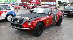 Samuri 240Z Rally Car