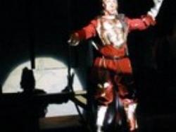 As Don Quixote in  Man of La Mancha