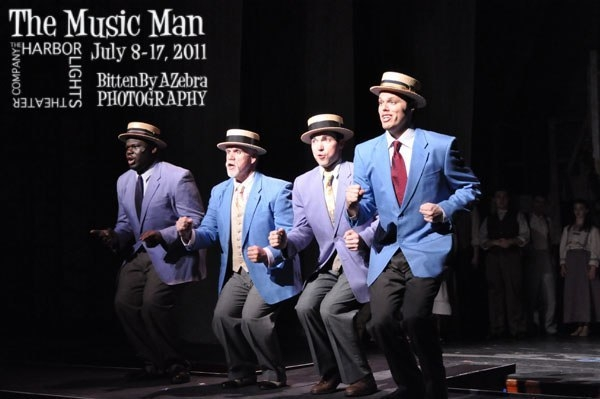 As part of the quarter in  The Music Man