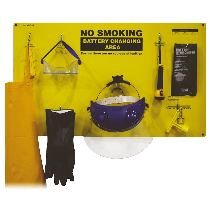 > Battery PPE Kit - View details by clicking above
