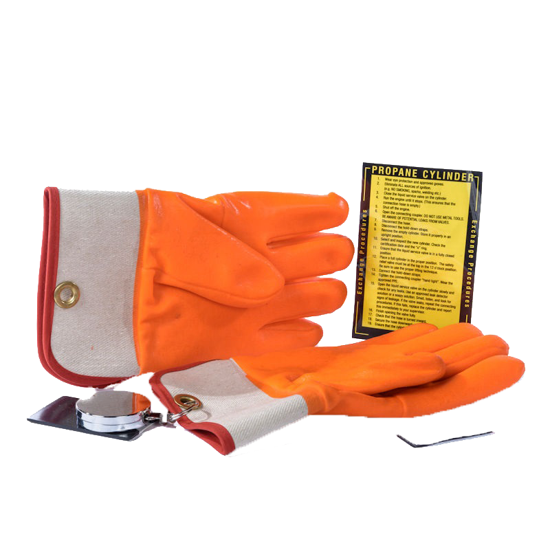 > Propane Cylinder Handling Gloves - View details by clicking above