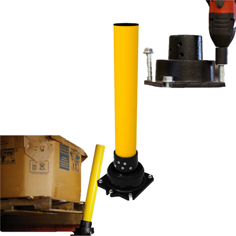 > SLOWSTOP.® Bollards With Bounce - View details by clicking above