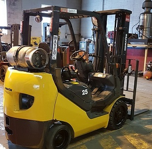 Pre-owned Forklifts