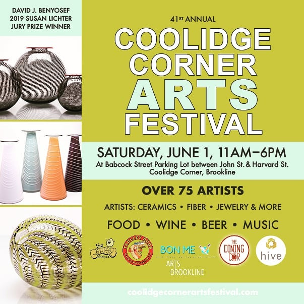 This Sat, June 1. We will be at Coolidge corner with new pots #coolidgecorner #ceramics #sodaglaze #boston  #brookline #pottery #beer #vases