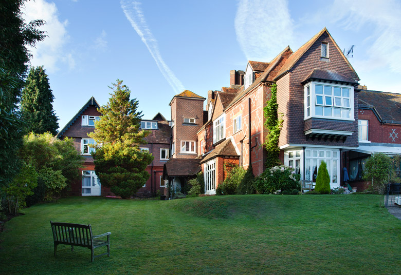 Surrey Hills - 01428 682 346A beautiful Victorian Mansion with views over the crest of the Surrey Hills, where we welcome people with Dementia, Alzheimers and related illnesses