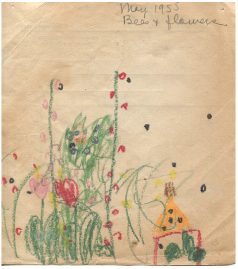 Bobby Kushner, Bees and Flowers, May 1955