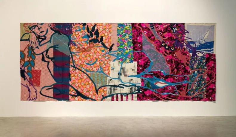 "Sail Away , 1983. Robert Kushner. (Courtesy the artist and DC Moore Gallery, New York, NY. ""Pattern, Crime & Decoration"" exhibition, Consortium Museum (Dijon – France), 2019)"