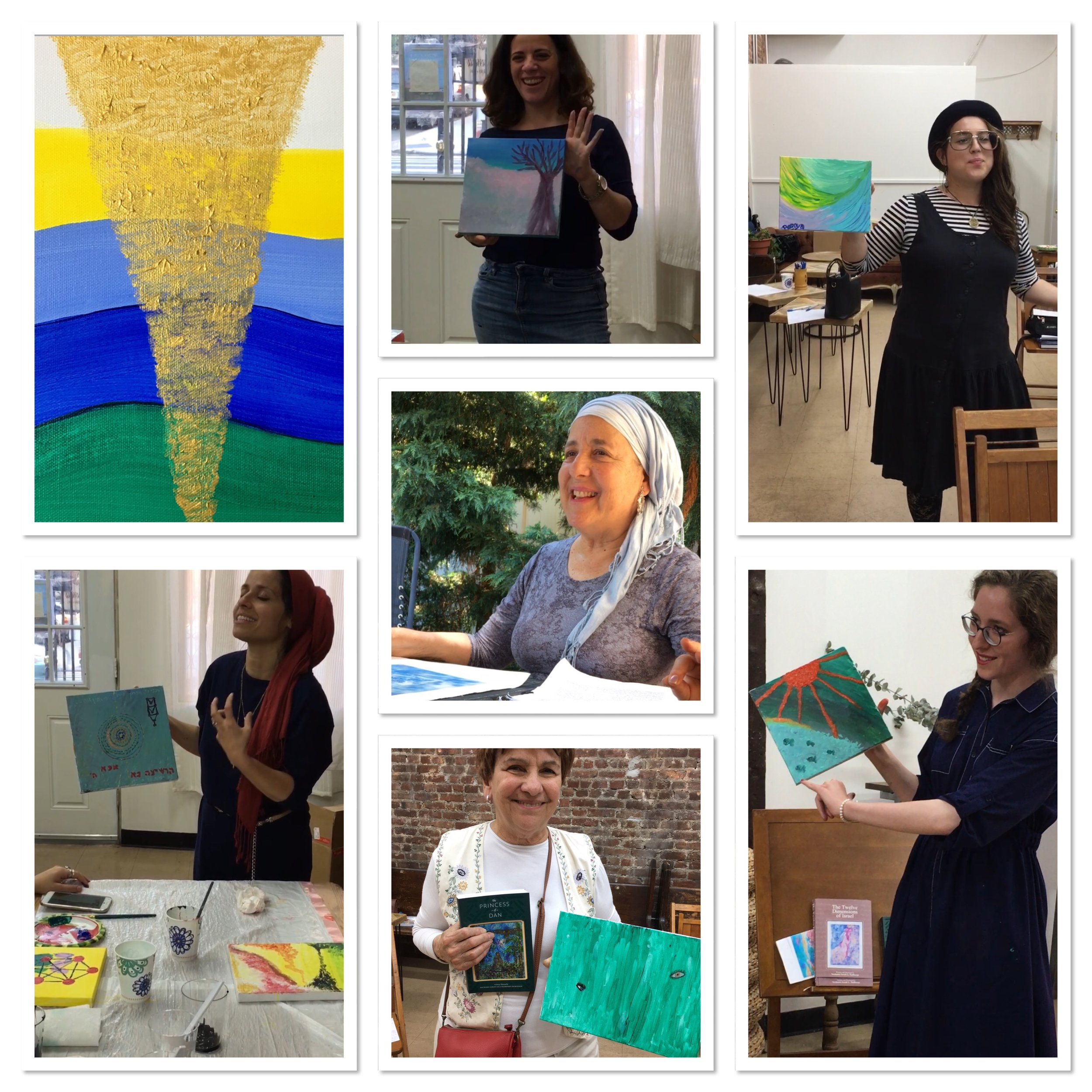 crown heights - LUMINESSENCE, MEDITATIVE PAINTING WORKSHOP, JULY 2018