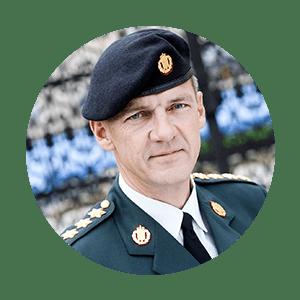 GENERAL PETER BARTRAM   Danish Chief of Defense