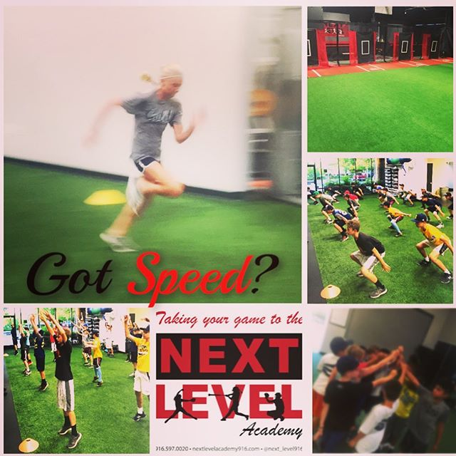 Got Speed? ----------------------------------- Speed School Classes Classes are held on Monday, Tuesday, Wednesday, Thursdays at 7:00 pm and 7:30 pm  What are you doing to work on your speed?  At Next Level Academy, we offer SPEED SCHOOL, which is a  30-minute class that teaches players how to run using speed drills, and running mechanics and core strengthening and total body strength.  All Speed School Classes are led by a Certified STRENGTH & CONDITIONING SPECIALIST. Classes are filling up, so please don't hesitate to sign up NOW! ------------------------------------ Classes can be purchased in a package or players can purchase individual classes @ $25 per Session —————————————— Dates are as follows: Monday 7:00 - 7:30 | 7:30 - 8:00 Tuesday 7:00 - 7:30 | 7:30 - 8:00 Wednesday 7:00 - 7:30 | 7:30 - 8:00 Thursday 7:00 - 7:30 | 7:30 - 8:00