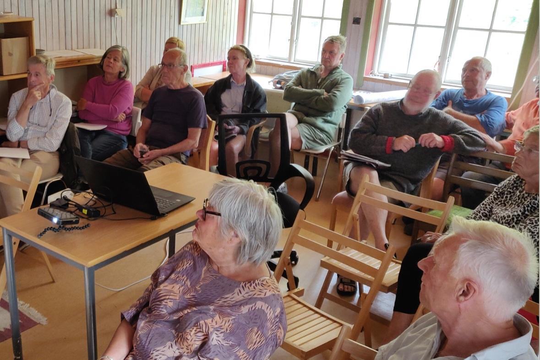 Informationsmöte i Östergarn