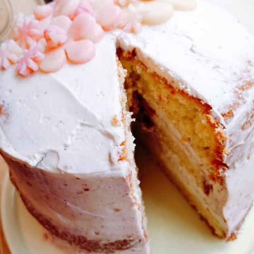 Nude cake (12 parts) - 42 €