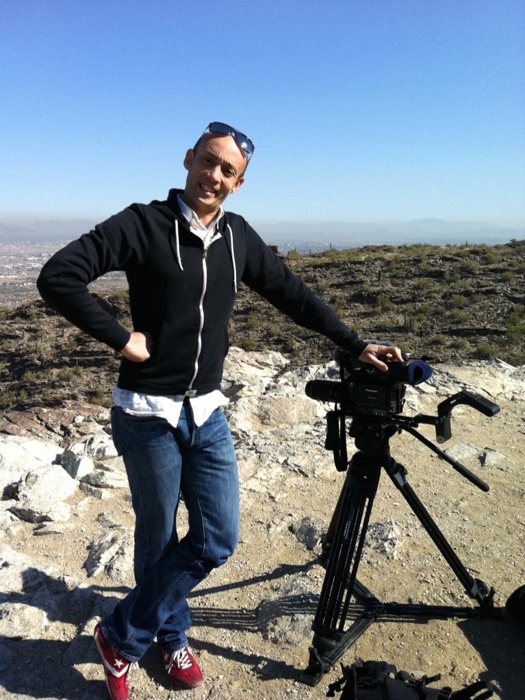 Sandy Palenzuela - réalisateur de films d'entreprise et documentaires. Opérateur drone