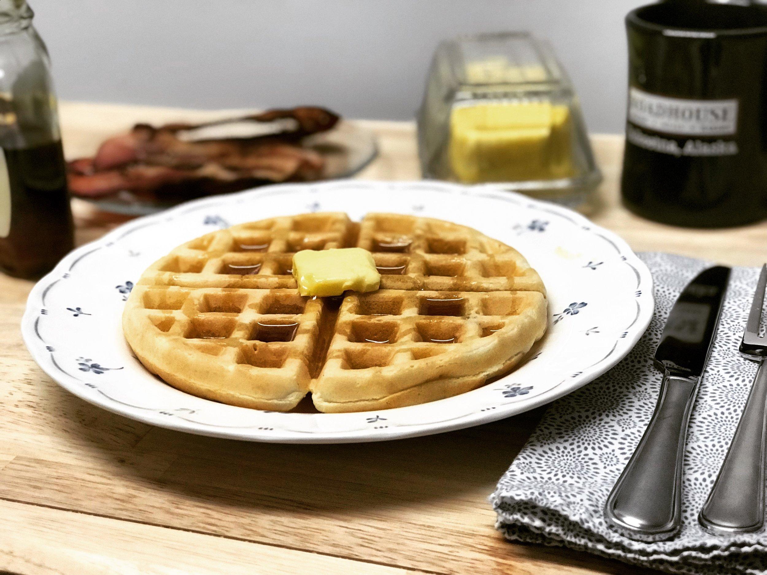 Sourdough Buttermilk Waffle