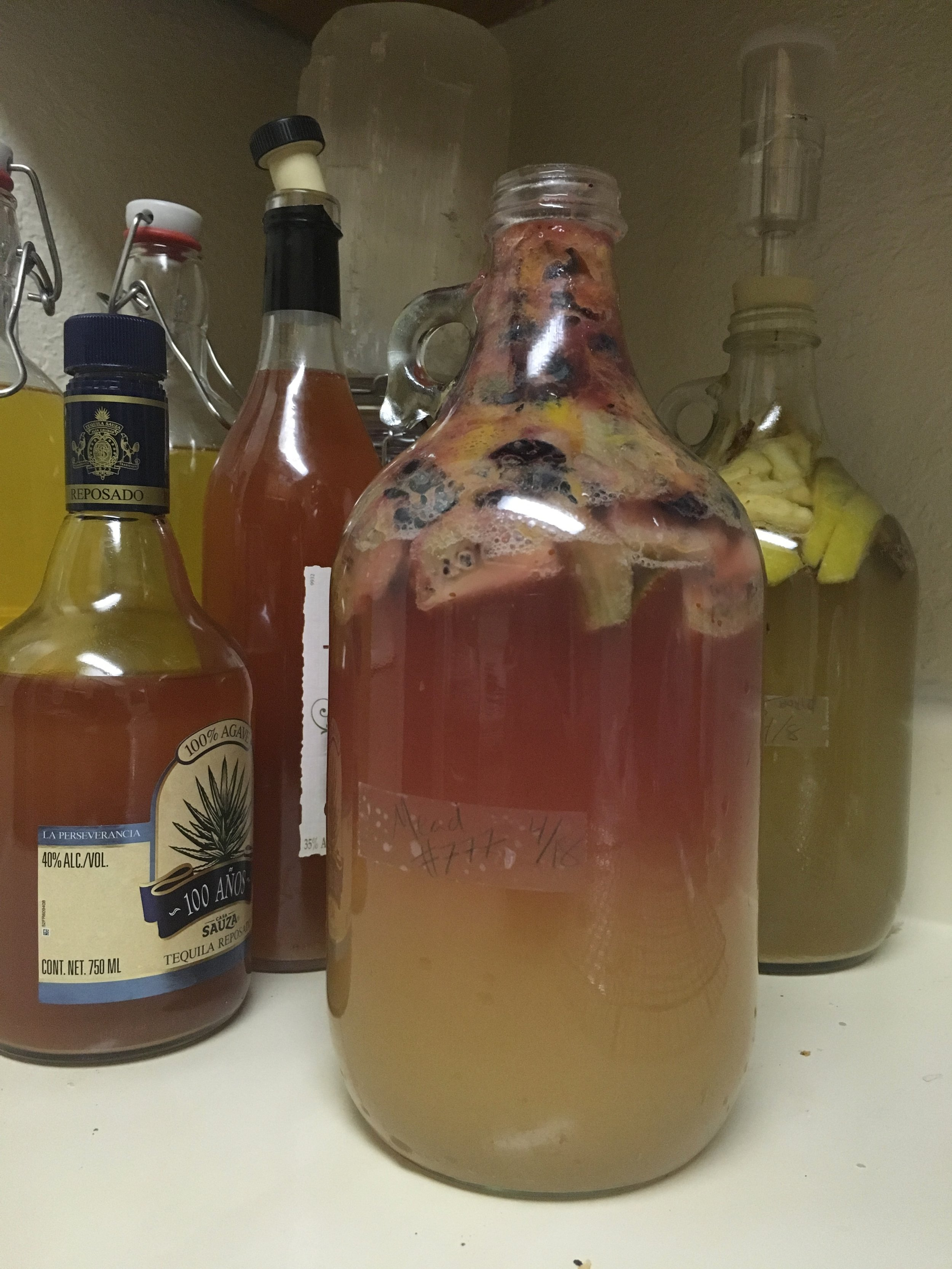 A tropical fruit mead with kiwi, berry and much more!