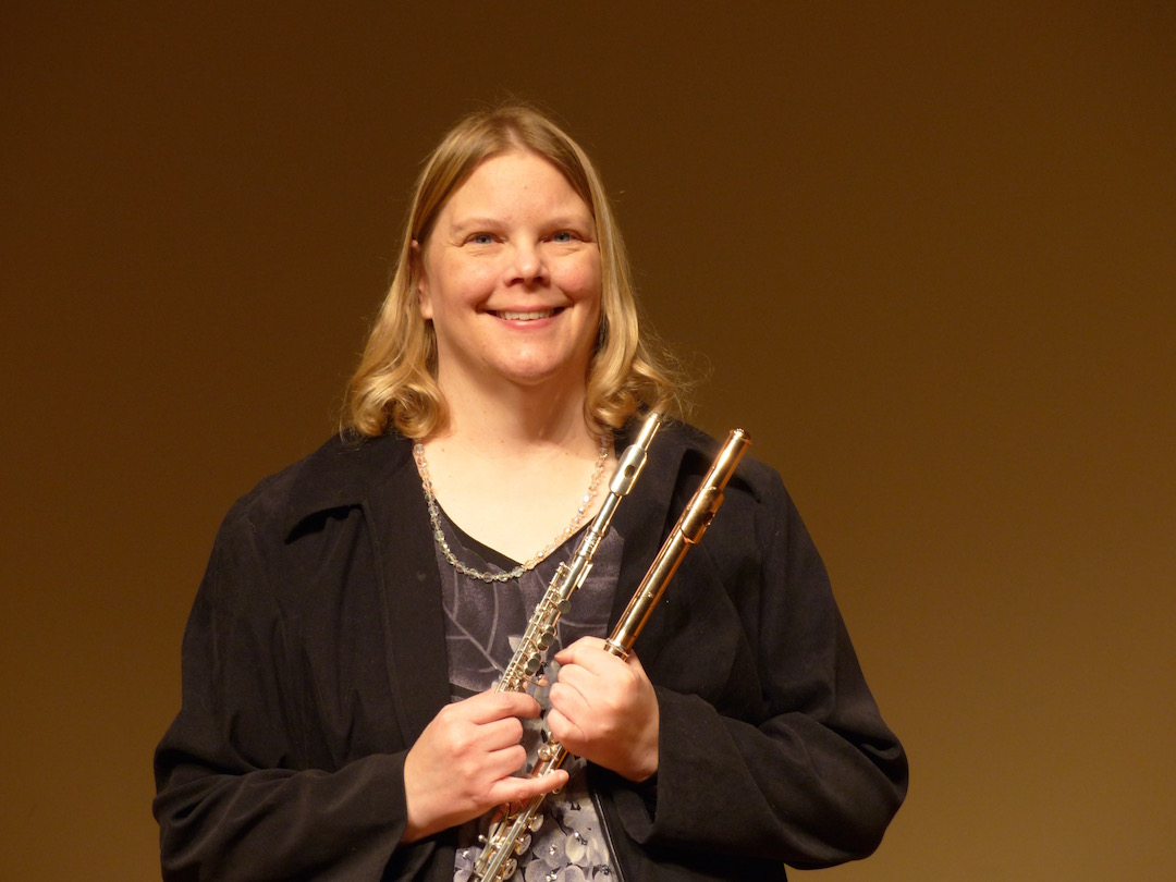 Dr. Ronda Ford, Flute