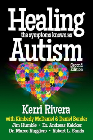 Kerry Rivera's book that's helped more than 500 kids lose their autism diagnosis (ATEC score of 10 or below)