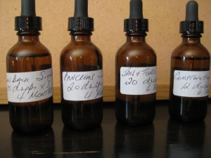 My 'Signals' or homeopathic remedies