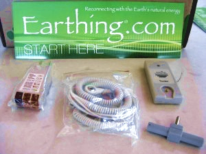 Earthing kit from Earthing.com
