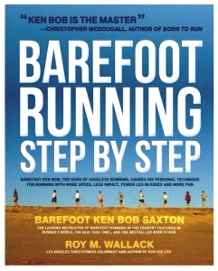 Ken Bob's instructions on barefoot running got the job done for me!