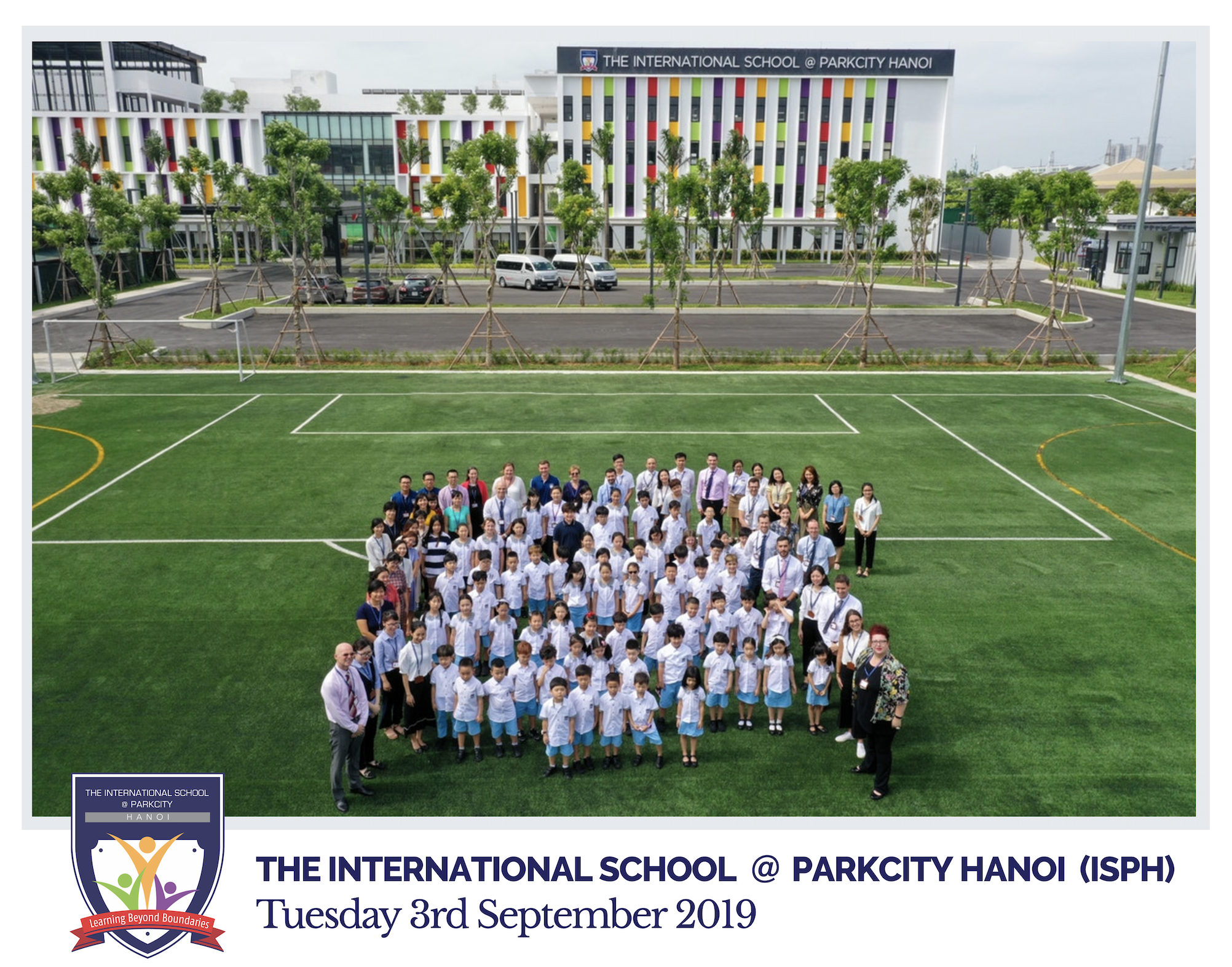 ISPH Whole School Photo - 3rd September 2019
