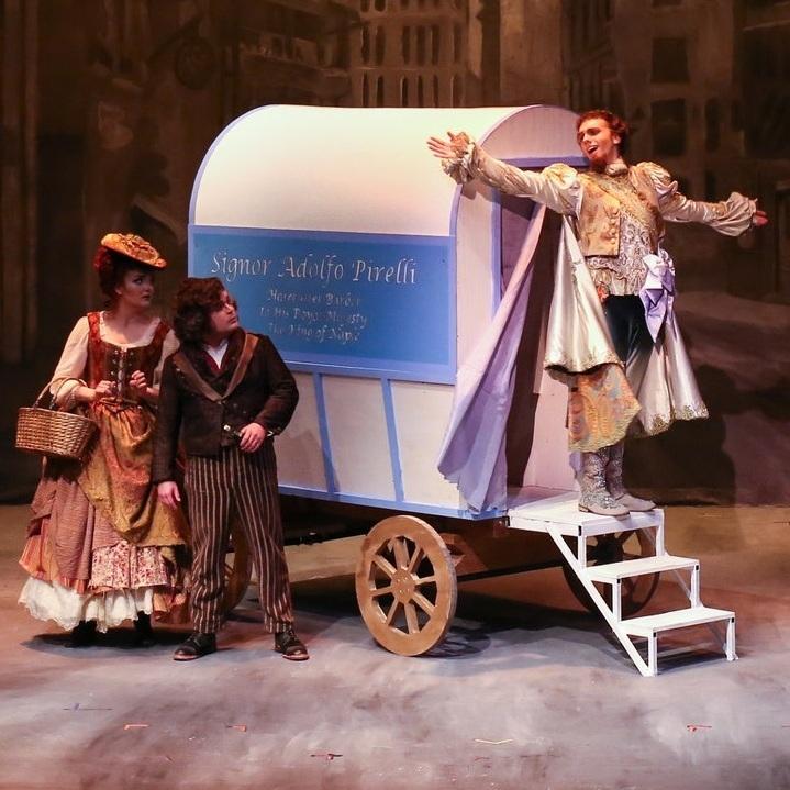 Sweeney Todd  (Adolfo Pirelli)  Theatre TCU