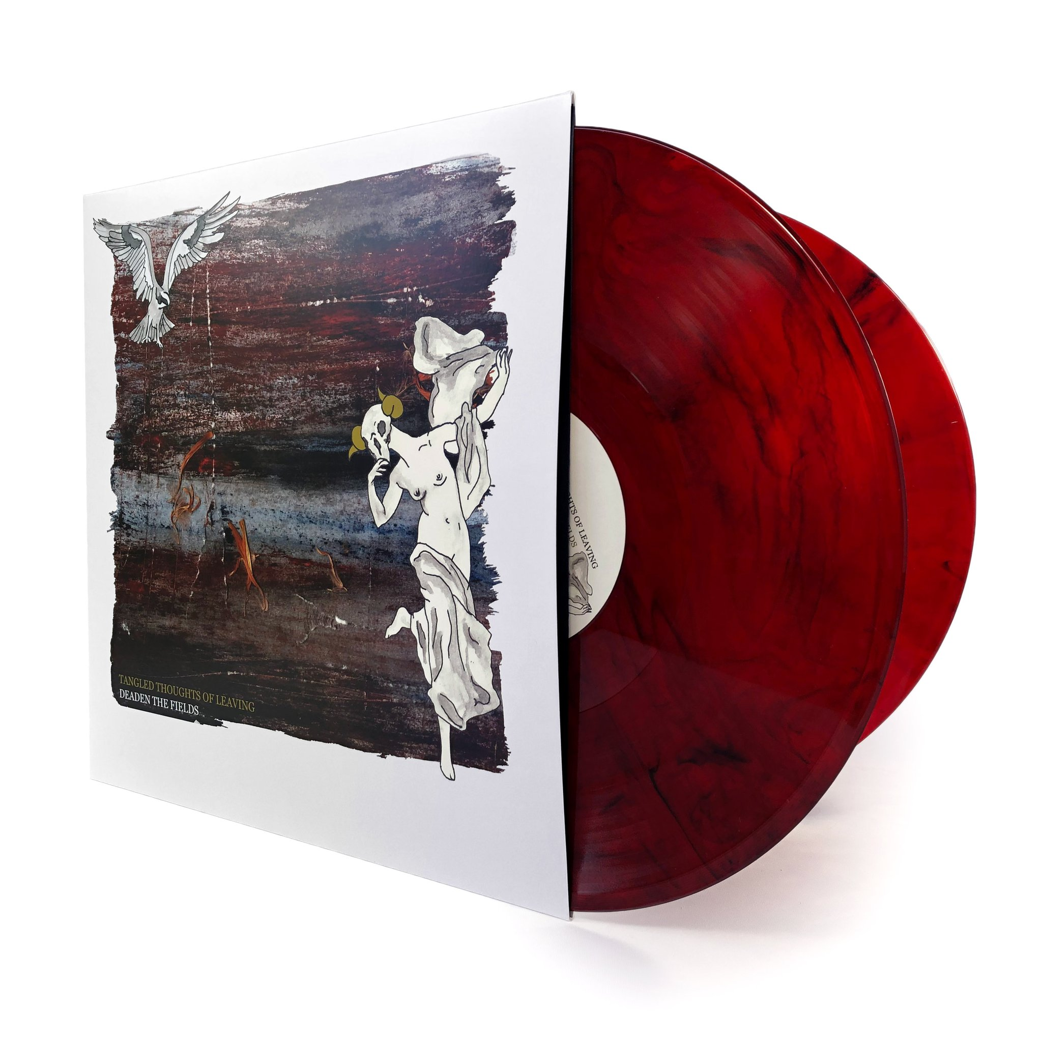Tangled Thoughts Of Leaving • Deaden The Fields [2xLP] - Released on July 8th, 2011. Limited to 100 copies.