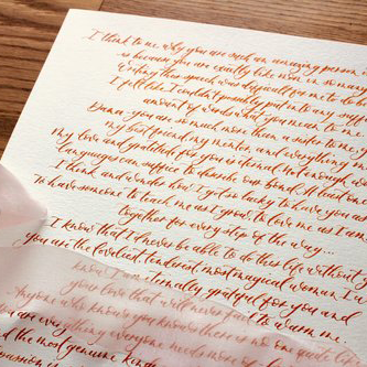 calligraphy vows lyrics