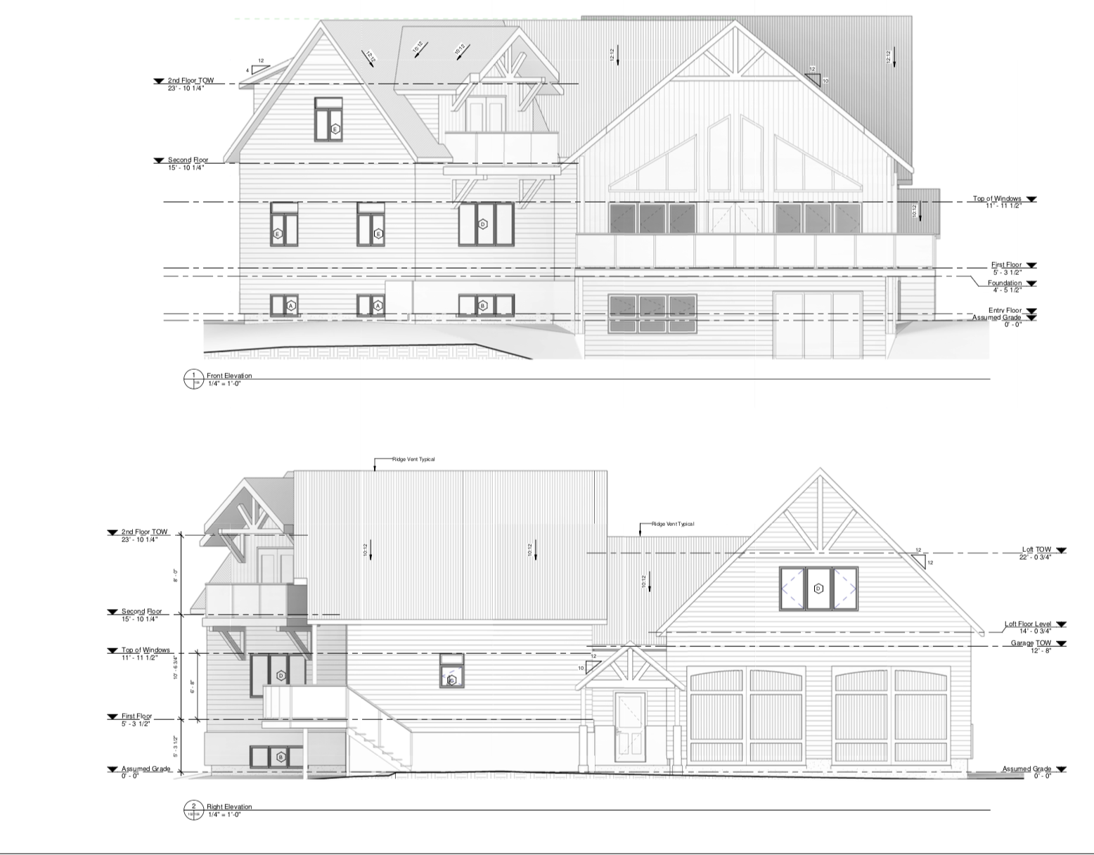 Residential House Plans - We design and draw floor plans and elevations for remodels, additions and new construction, including cabinetry, millwork, fireplace, stairway and lighting design.Our plans are ready for permit and construction.It starts with a 1-hour initial consultation, at $150, we then provide you with a proposal based off your needs and requirements.