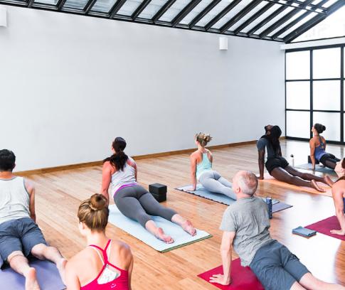 SUR TAPIS / tenue yoga - FLOW - 45 MNUne séquence dynamique incluant des postures de Yoga adaptées aux participants et des exercices de respiration. Étirements et renforcements musculaires garantis.