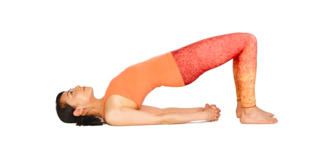 posture du pont yoga